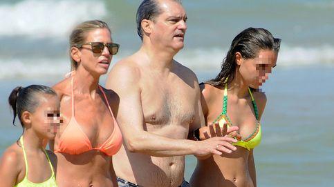 Ramón García y Patricia Cerezo, vacaciones familiares en Cádiz