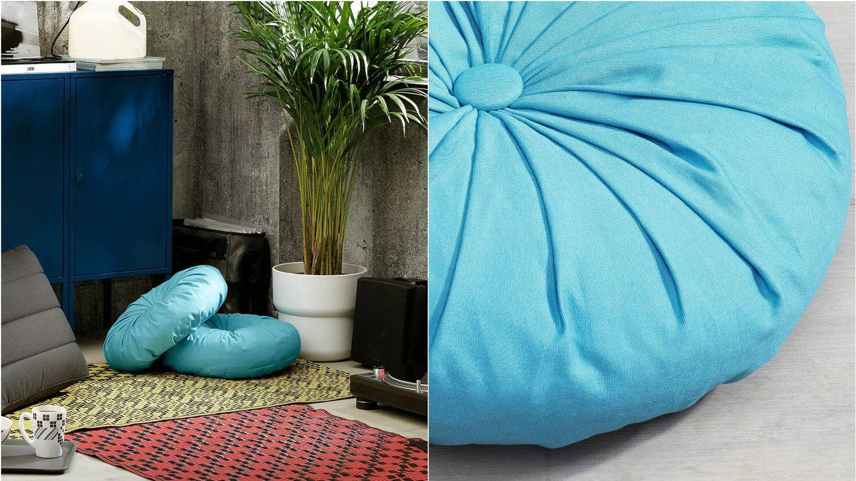 Cojines de Ikea para cambiar la decoración de tu hogar. (Cortesía)