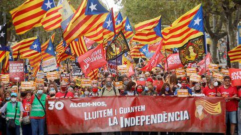 El independentismo pincha estrepitosamente en su acto de aniversario del referéndum