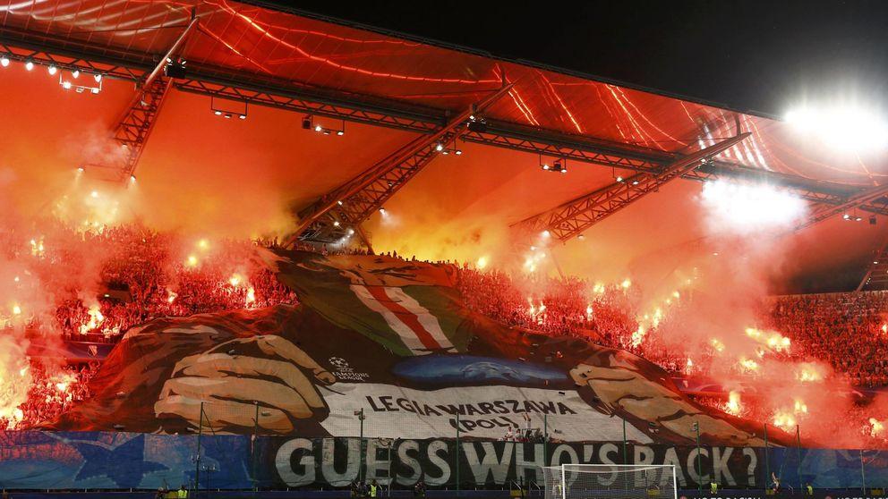 Así son los ultras polacos que asustan por su llegada en masa a Madrid