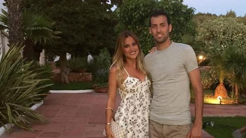 Sergio Busquets espera feliz la llegada de su primer hijo