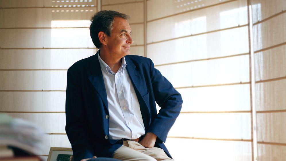 Foto: El Rey citó a Zapatero el 15 de mayo en Zarzuela para comunicarle su decisión de abdicar. (Fotos: Enrique Villarino)