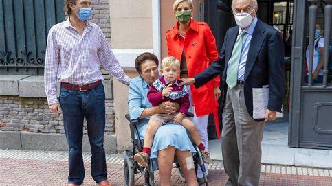 En fotos: La íntima celebración de cumpleaños de María Zurita junto a su hijo y su familia