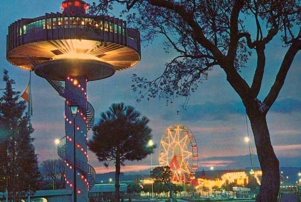 Foto: Imagen del parque en los años 70. (Parques Reunidos)