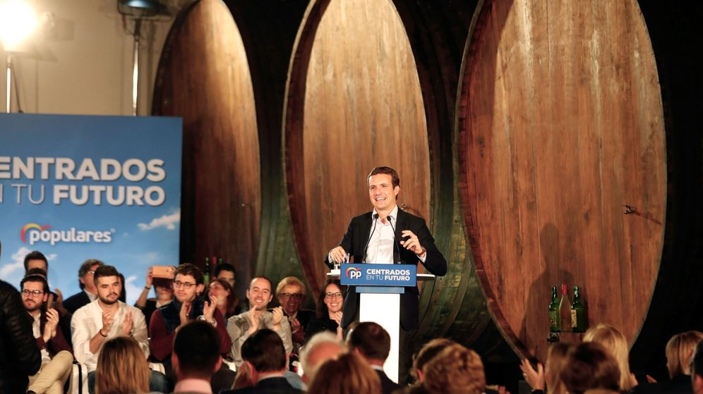 Foto: El presidente del PP, Pablo Casado (Efe)