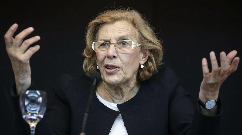 Foto: Manuela Carmena, candidata de Podemos a la alcaldía de Madrid por Ahora Madrid. (EFE)
