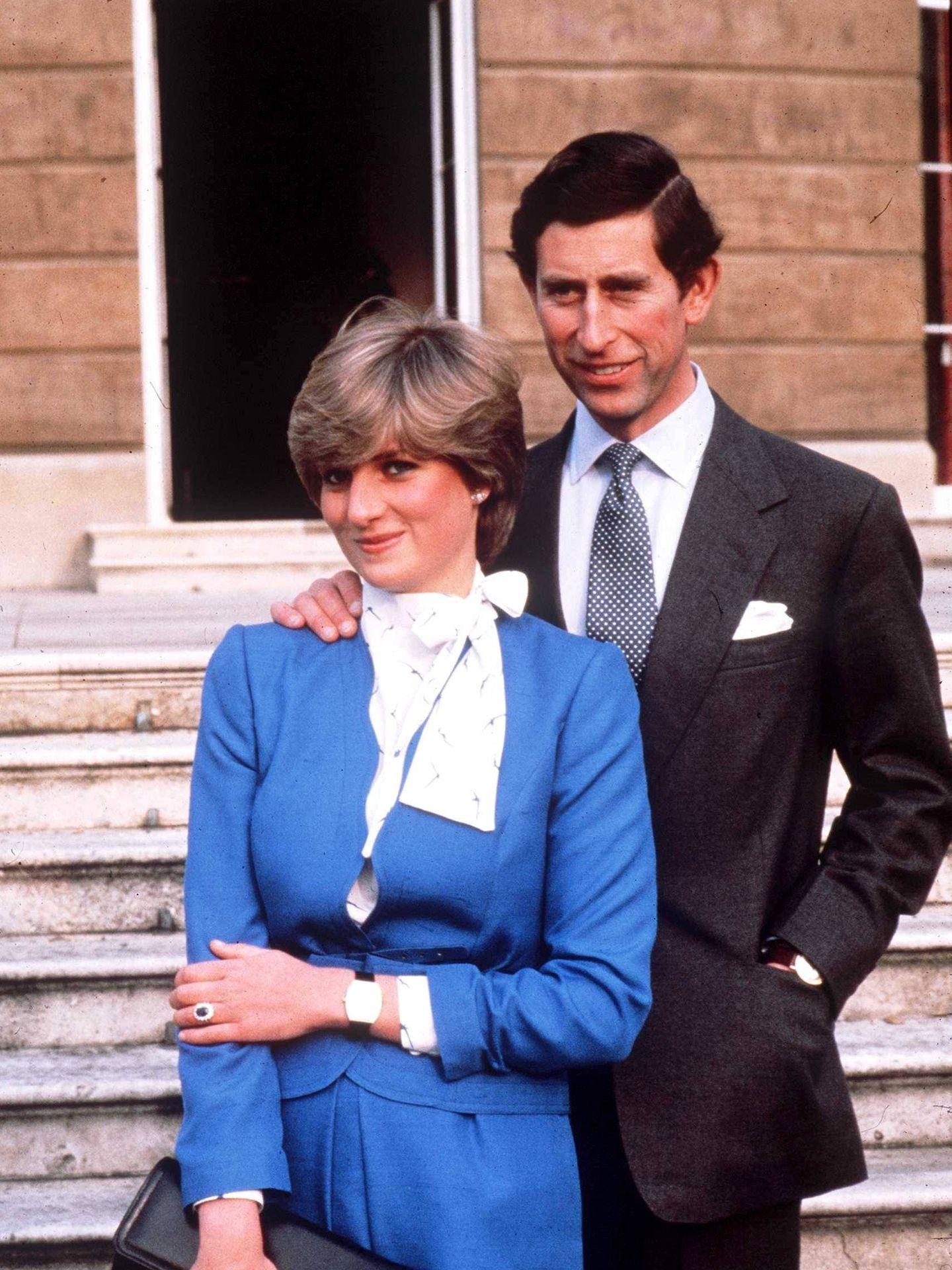 Carlos y Diana, en 1981. (Cordon Press)
