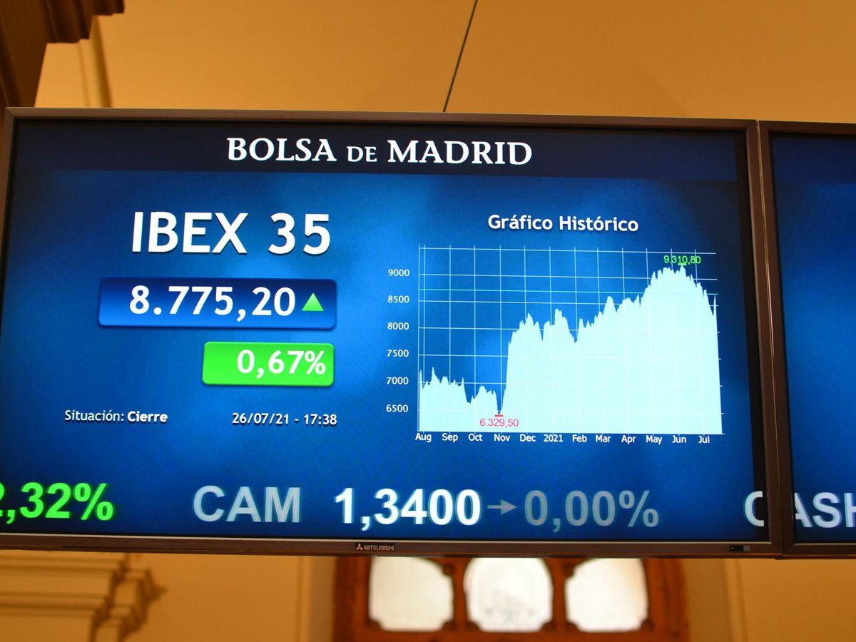 Foto: El Ibex 35. (EFE)