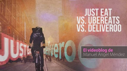 Probamos Just Eat, UberEats y Deliveroo. ¿Cuál es mejor?