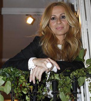 Marta Sánchez, orgullosa del trabajo de su novio en Intereconomía