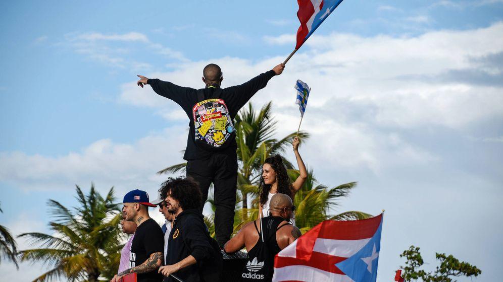 Foto: Artistas como Residente o Bad Bunny se manifiestan en Puerto Rico. (Reuters)