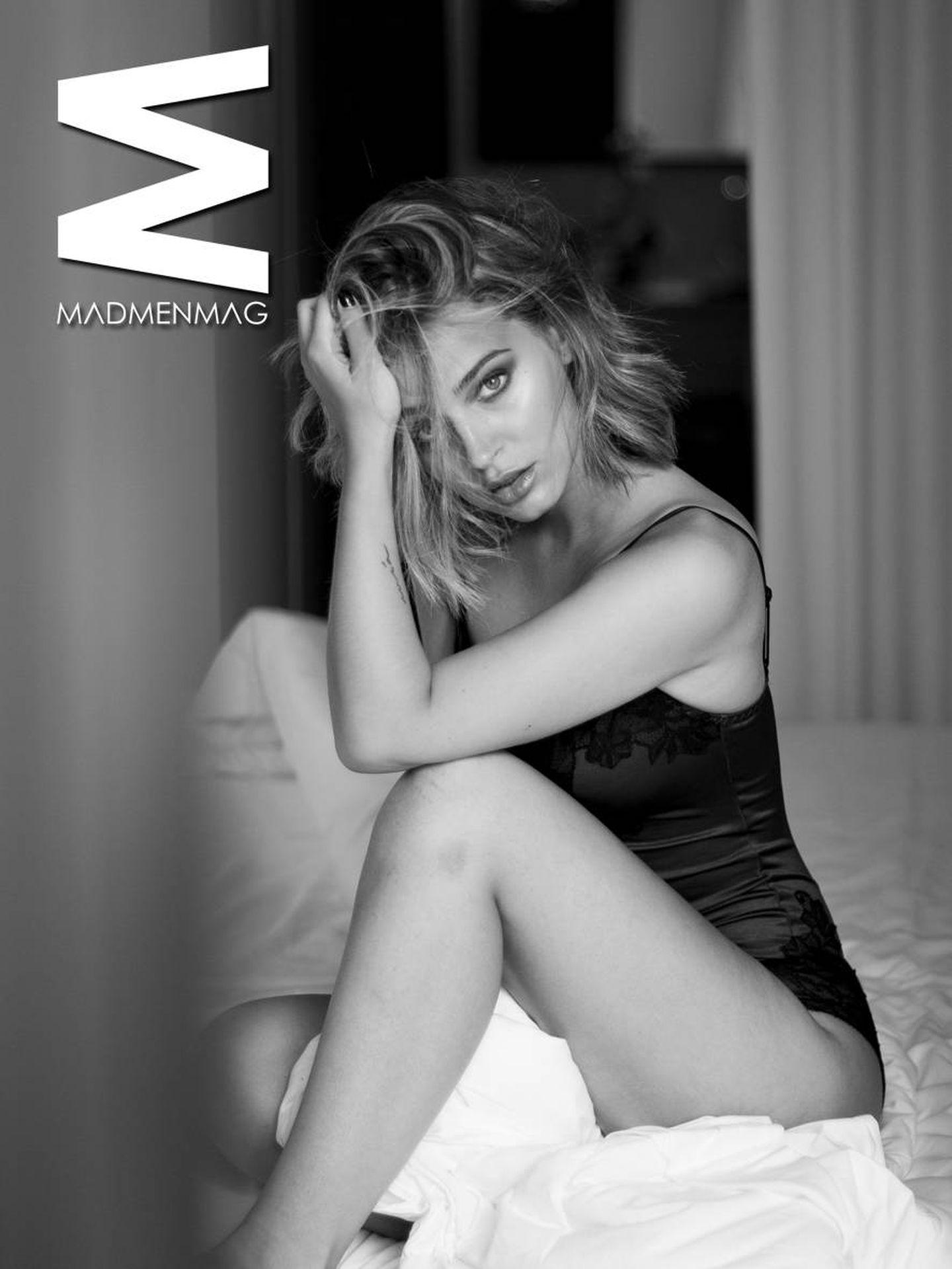 Laura Escanes en una imagen para 'MadMenMag'.
