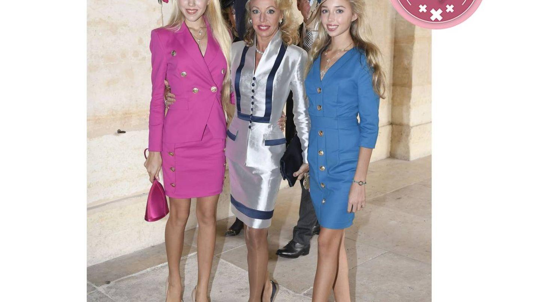 Familia Borbón Dos Sicilias: Maria Chiara, Maria Carolina y Camila Crociani. (Cordon Press)