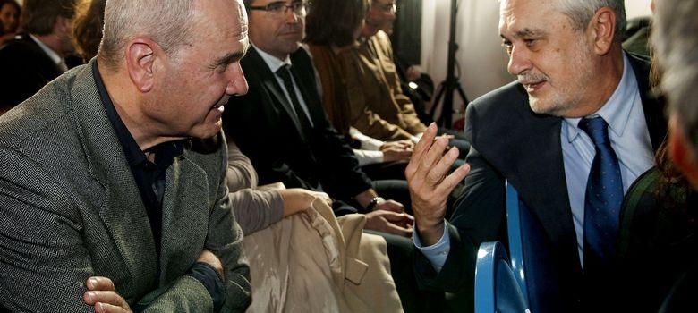 Foto: Manuel Chaves y José Antonio Griñán en un acto (Efe)