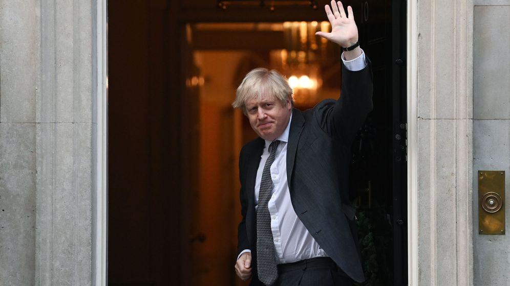 Foto: Boris Johnson, tras la votación de aprobación del acuerdo de Brexit. (EFE)