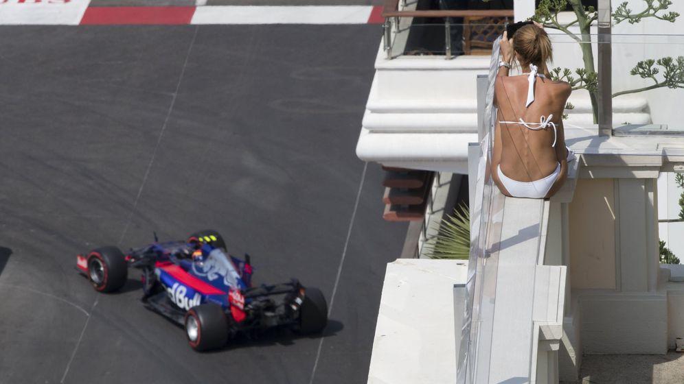 Foto: Carlos Sainz durante este jueves del GP de Mónaco. (EFE)