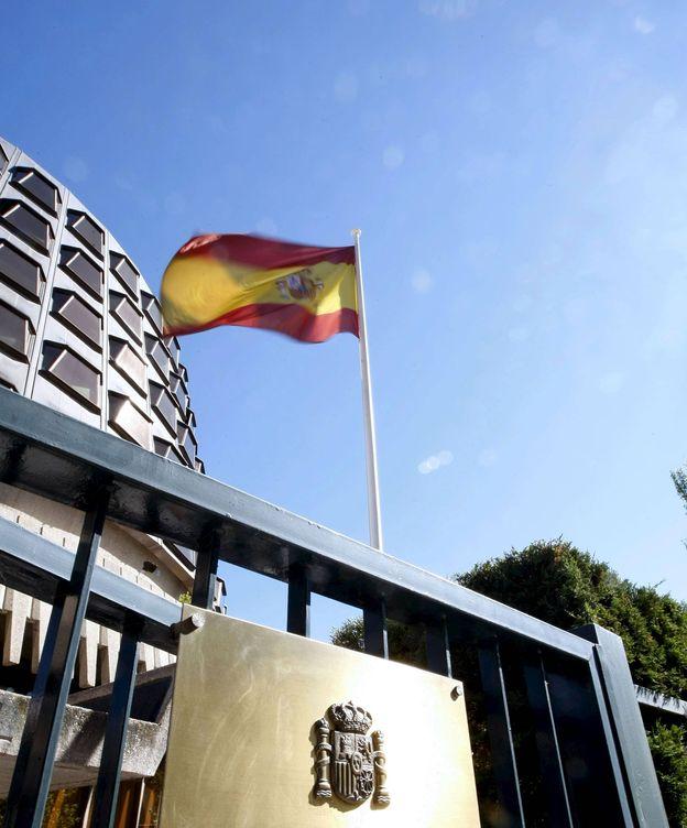 Foto: Fachada del edificio del Tribunal Constitucional. (EFE)