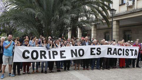 Abren una investigación por la quema del muñeco de Puigdemont en Coripe