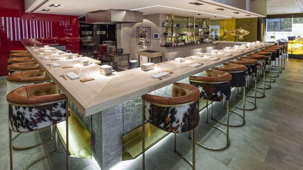 David Arauz, la barra de sushi más top de Madrid
