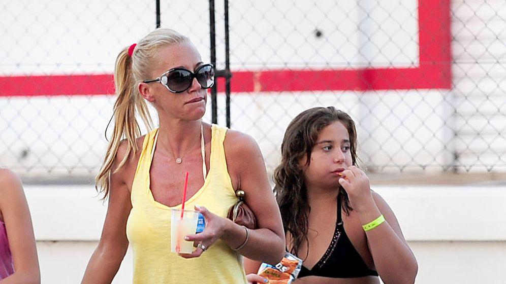 Foto: Belen Esteban y su hija Andreíta en una imagen de archivo. (Gtres)