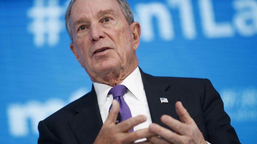 Foto: El exalcalde de Nueva York Michael Bloomberg (EFE)
