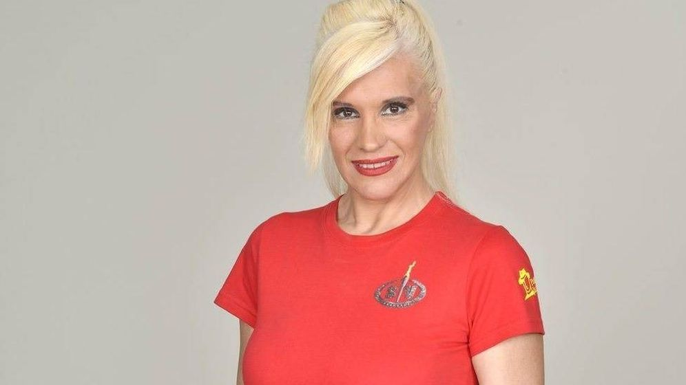 Foto: Loli Álvarez, primera expulsada de 'Supervivientes 2019'. (Telecinco)