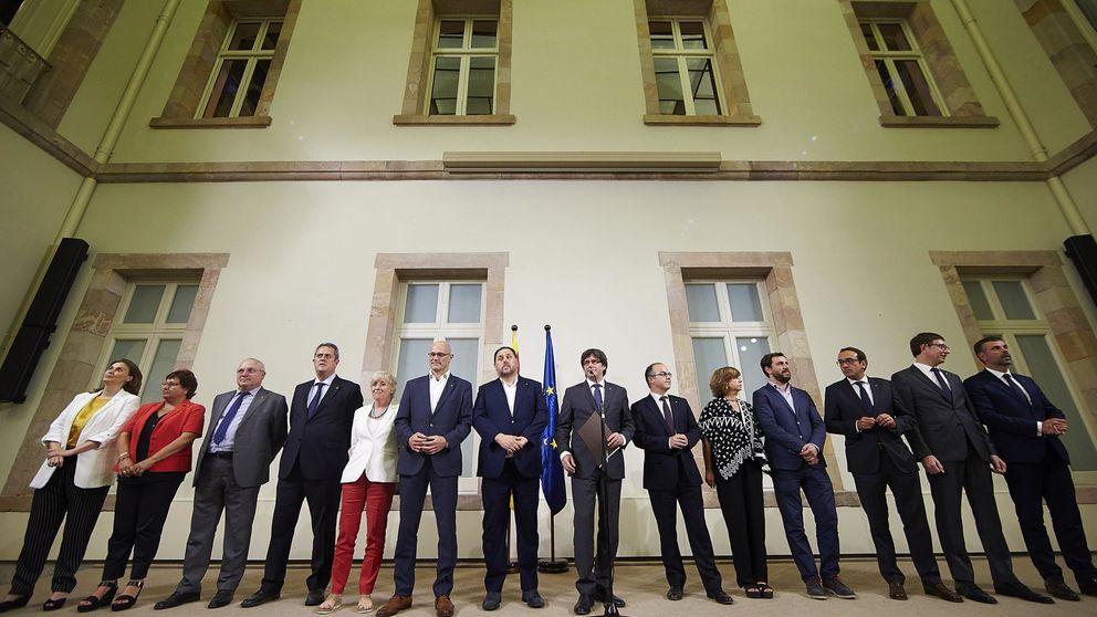 La ley de ruptura catalana otorga inmunidad al 'president' y a su Gobierno