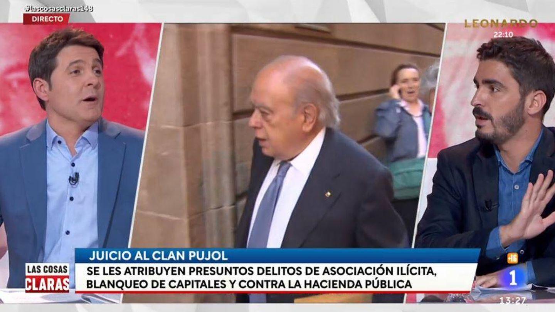Jesús Cintora y Juanma Lamet, en 'Las cosas claras'. (RTVE)