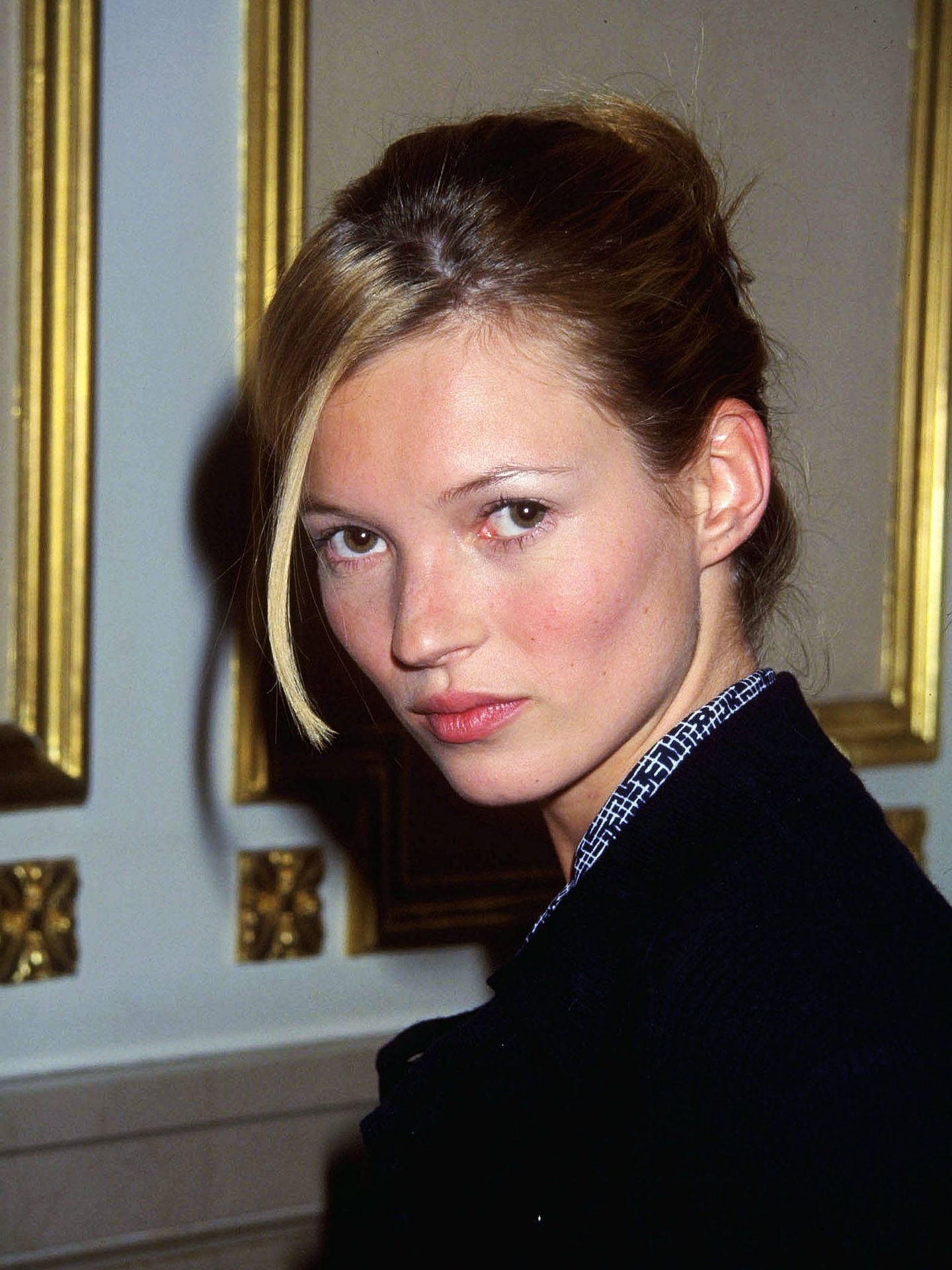 Una joven Kate Moss. (Getty)