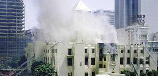 Post de Una biblioteca en llamas, un millón de libros quemados y un fascinante pirómano