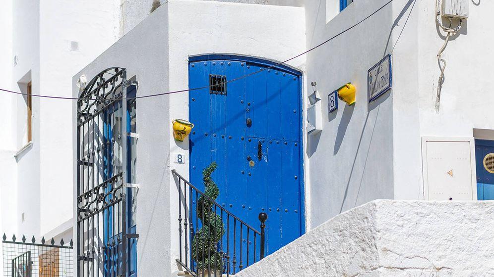 Foto: Un rinconcito del barrio del Arrabal. (Foto: Turismo Mojácar)