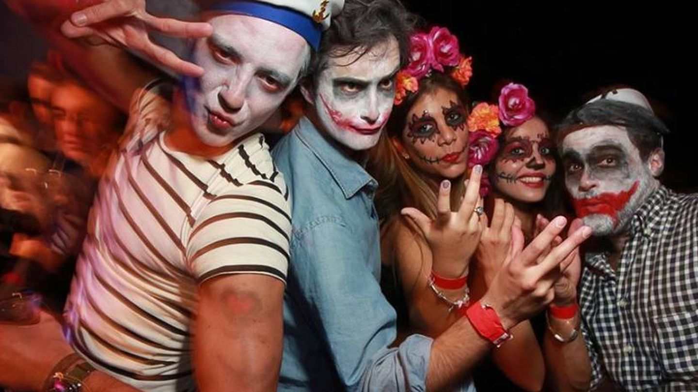 Halloween en el Círculo de Bellas Artes el pasado año. (Foto: Cocorico)