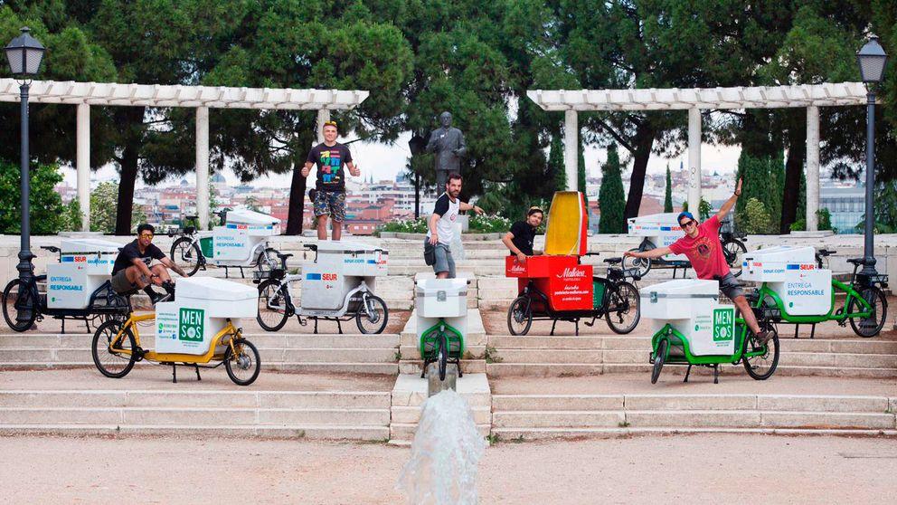 Bicis de carga: el nuevo negocio que triunfa gracias a las multas de Madrid Central