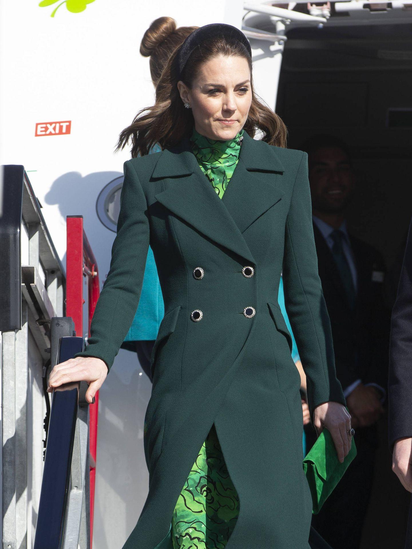 Kate Middleton, en una visita a Irlanda. (Getty)