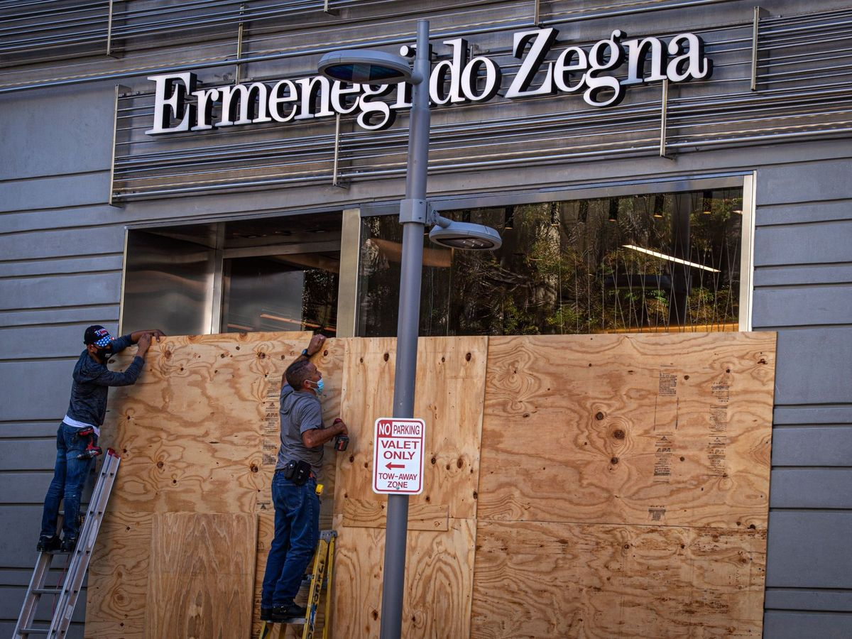 Foto: Tienda de Zegna. (EFE)