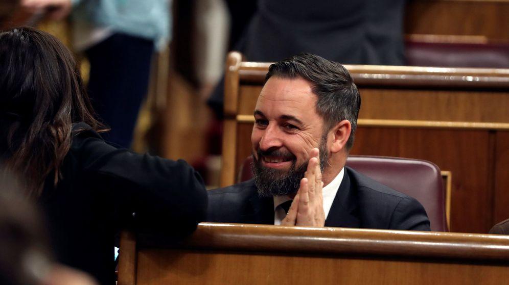 Foto: Santiago Abascal, en una imagen de archivo. (EFE)