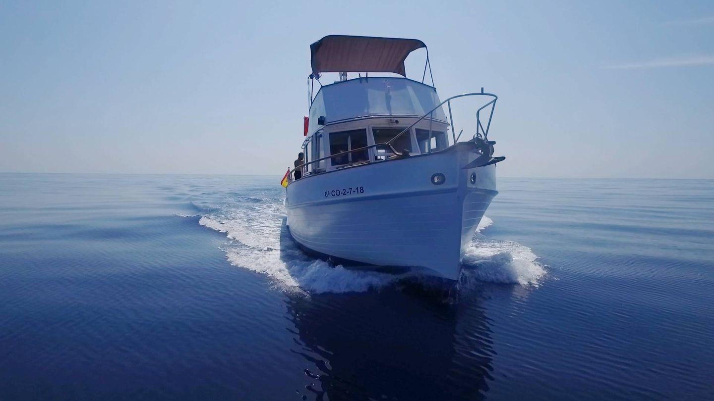 El barco utilizado para llevar a cabo las grabaciones de 'Hundidos'. (Zona Mixta)