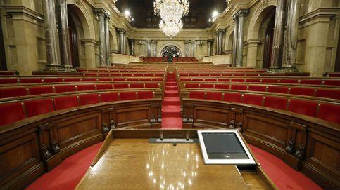 El 'parlament' fantasma: ¡Esto es como una ciudad desierta!