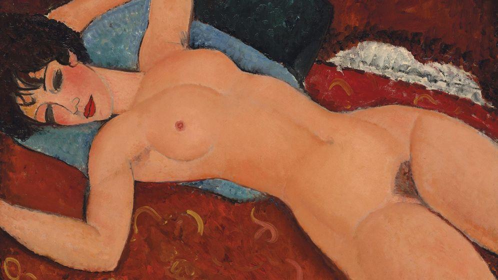 Foto: Una de las obras de Amedeo Modigliani (EFE)