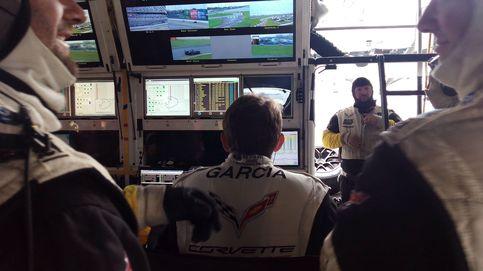 Un día en las carreras con Antonio García, un español en las 24 horas de Daytona