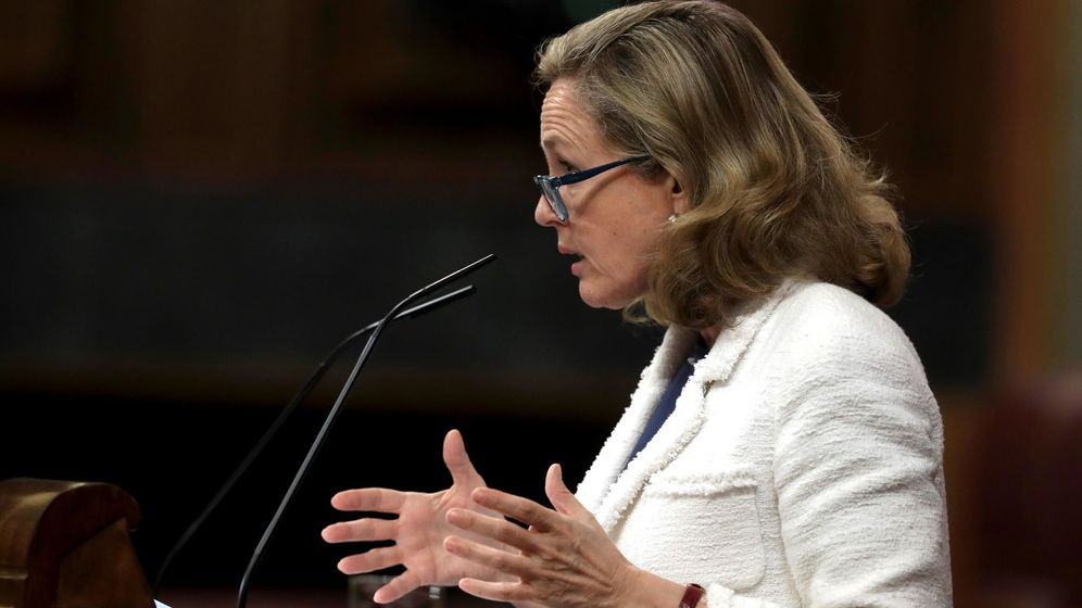 Foto: La vicepresidenta económica, Nadia Calviño. (Efe)