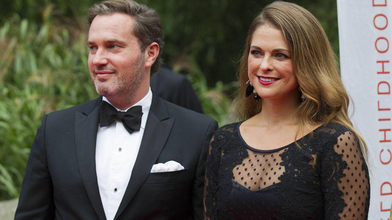 Foto: La princesa Magdalena junto a Chris O'Neill en una imagen de archivo (Gtres)