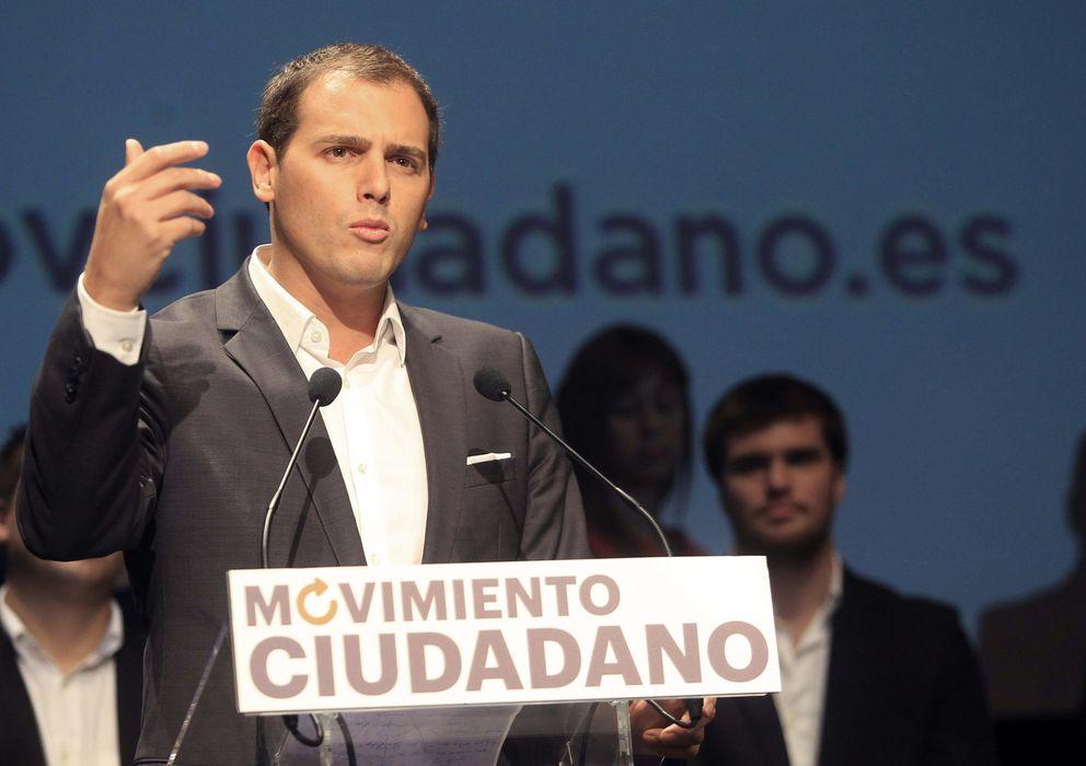 Foto: Albert Rivera, en la presentación de Movimiento Ciudadano (EFE).