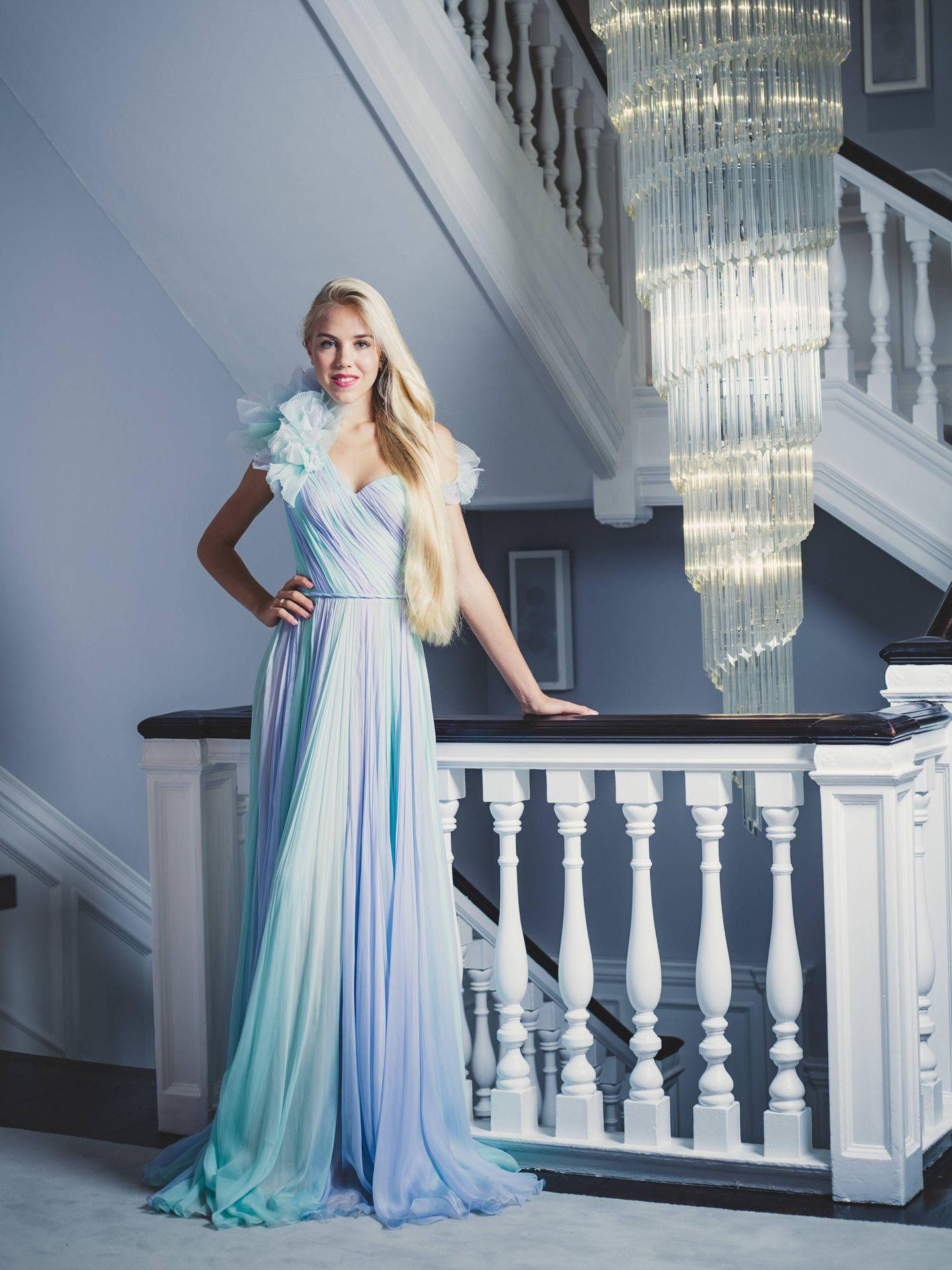 La princesa con su vestido de Ralph & Russo. (Fotos cedidas a Vanitatis)