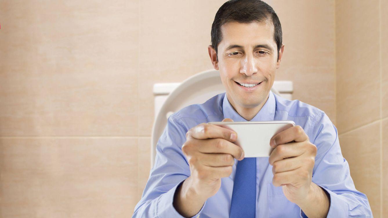 Foto: Creo que no se ha dado cuenta de que estoy el baño. Jejeje. (iStock)