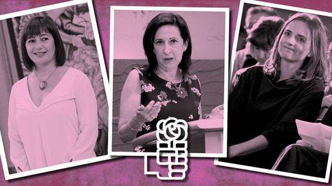 Retrato en clave rosa de las mujeres del 'no' a Mariano Rajoy