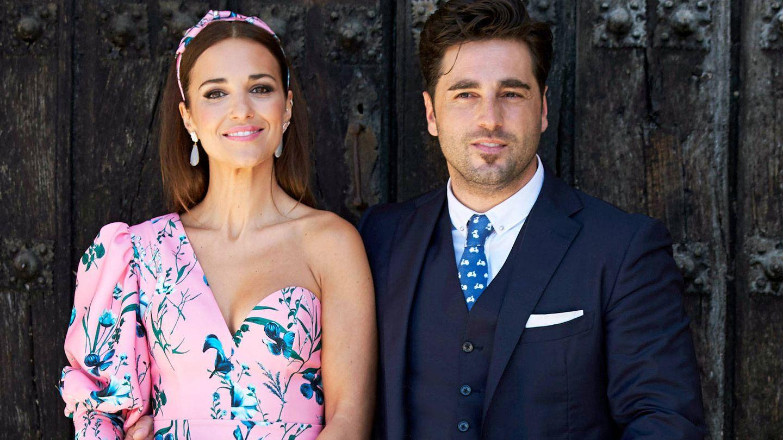 Paula Echevarría y David Bustamante, en la comunión de su hija. (Getty)