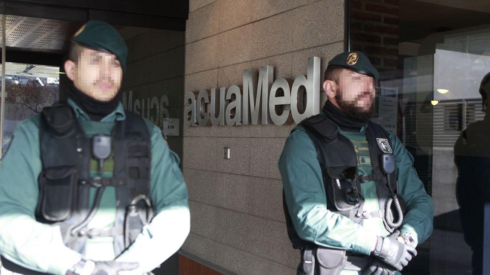 Foto: Registran la sede de la empresa pública Acuamed por posible fraude en contratos. (EFE)