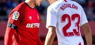 Post de El berrinche de Reguilón en el Sevilla y el carácter que no olvidan en el Real Madrid