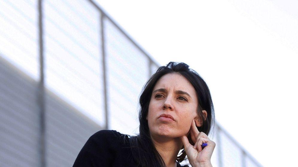 Foto: La portavoz de Unidas Podemos en el Congreso, Irene Montero. (EFE)